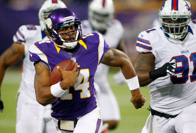 Vikings move Joe Webb from backup QB to full-time receiver