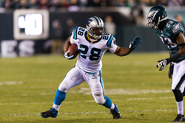 Panthers renegotiated Jonathan Stewart's contract