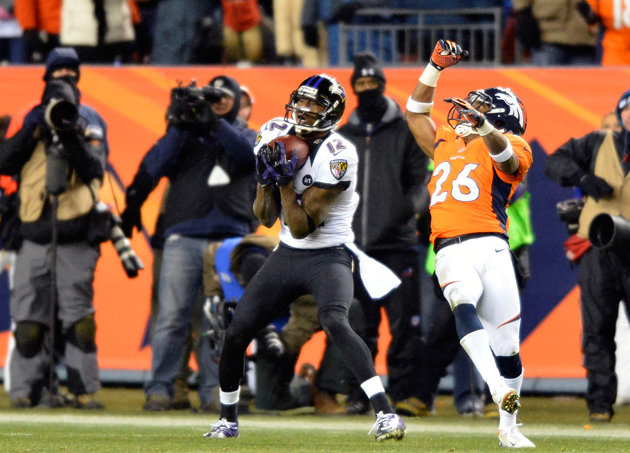 Joe Flacco connects with Jacoby Jones to send Broncos-Ravens ga…