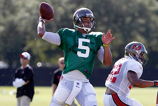 Training camp roundup: Buccaneers QB Josh Freeman will have to …