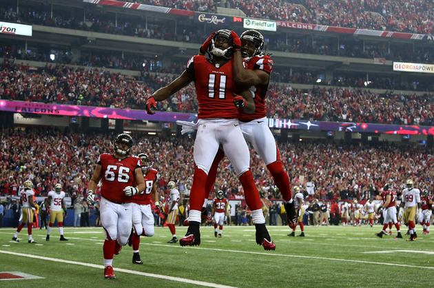 Julio Jones gets to 100 yards in under 10 minutes, scores again…