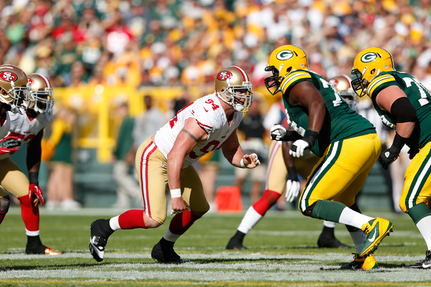 Saturday divisional round preview: Justin Smith could make all …