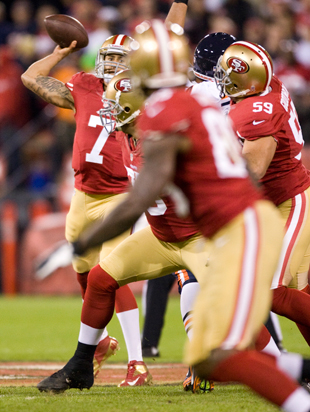 The All-22: Kaepernick gives 49ers game-breaking abilities with…