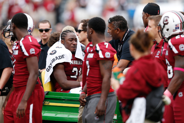 Recent knee surgery comebacks could help Marcus Lattimore's dra…