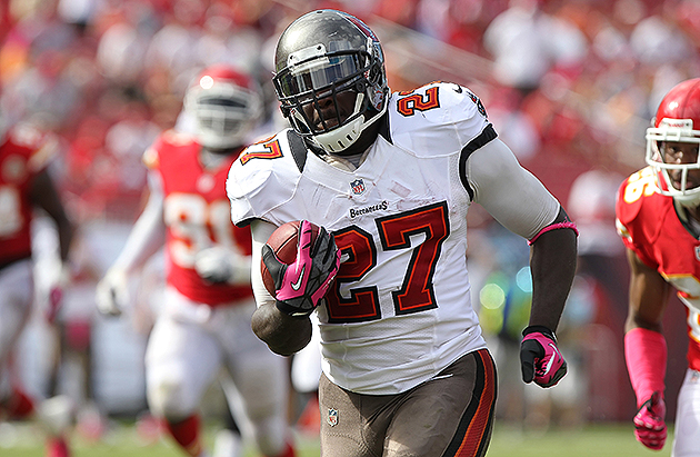 Buccaneers signed running back LeGarrette Blount to one-year ex…
