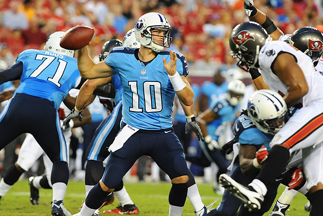 Jake Locker, Santonio Holmes headline Week 4 injuries