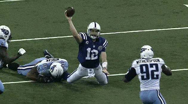 Colts come back to beat Titans 27-23