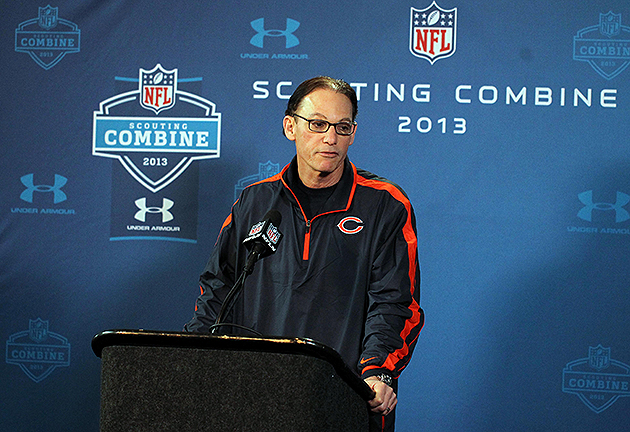 From the combine: Bears head coach Marc Trestman excited to wor…