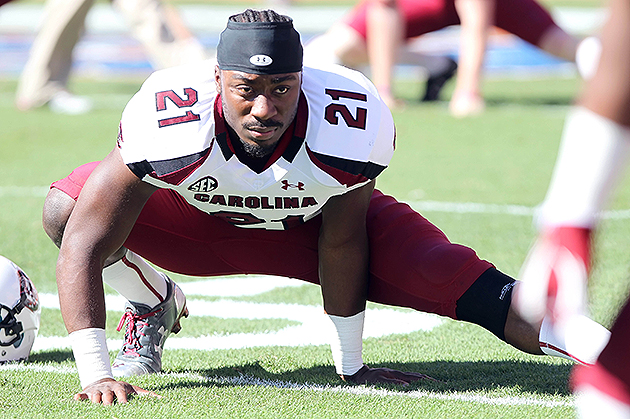 Marcus Lattimore selected in the fourth-round by the San Franci…