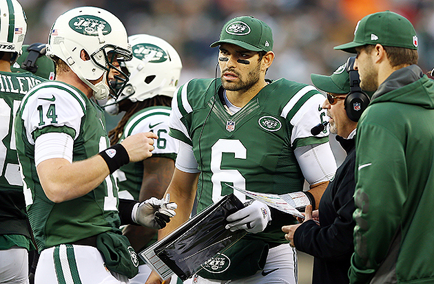 Myers: Three-ring QB circus could Rex scrambling for job