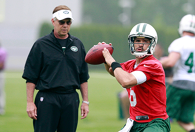 Nick Mangold says Jets players want Mark Sanchez to win startin…