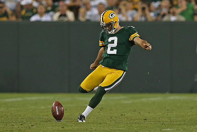 Packers kicker Mason Crosby restructures contract