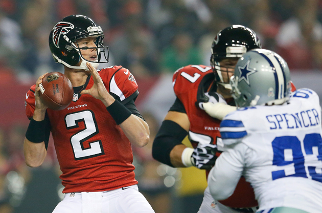 Falcons overcome slow start, improve to 8-0 with 19-13 win over…