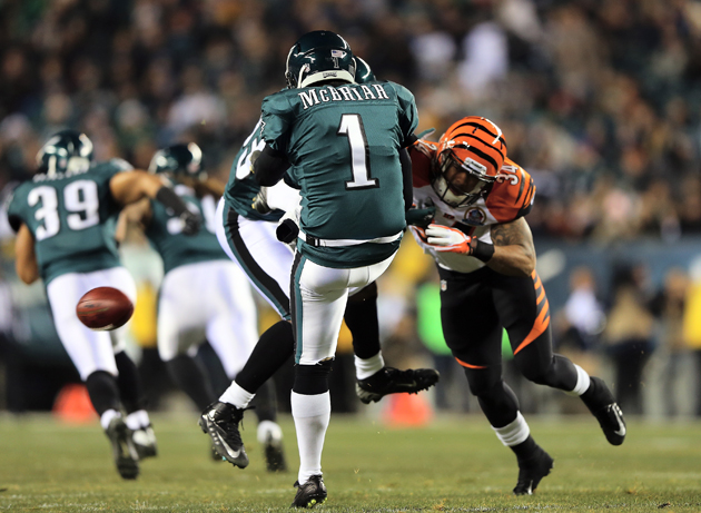 Eagles waste early comeback against Bengals with turnover-fille…