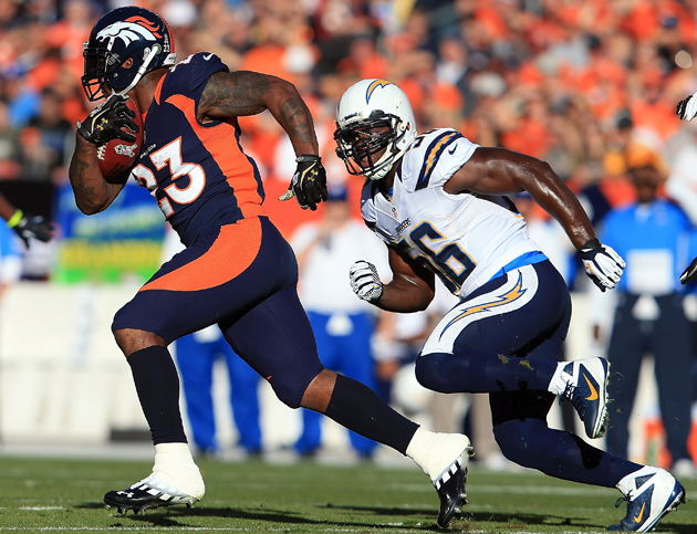 Broncos RB Willis McGahee out for the season