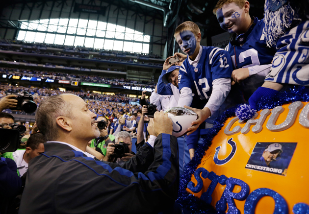 Chuck Pagano writes an amazing letter to the people of Indiana