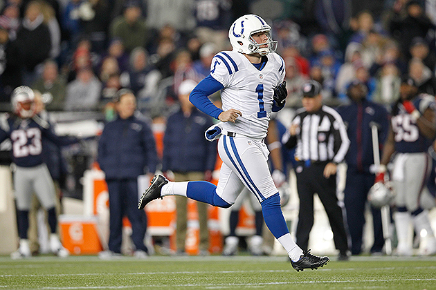 Report: Colts punter Pat McAfee to play out 2013 season under t…