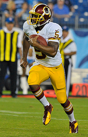 Redskins QB Pat White scores touchdown in first NFL action sinc…