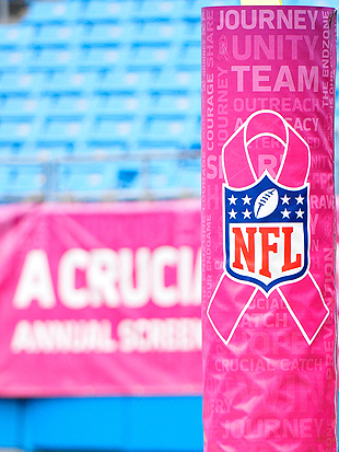 NFL refutes claim that pink merchandise profits are not going w…