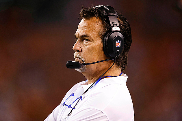 Rams head coach Jeff Fisher takes issue with Bernie Kosar's com…
