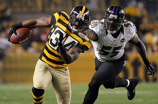 Steelers suspend running back Rashard Mendenhall for one game