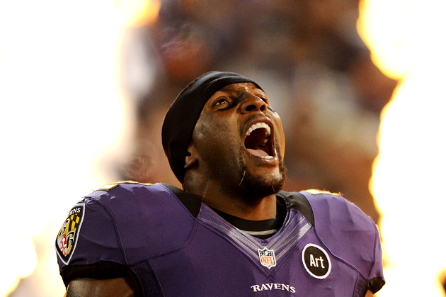 Ray Lewis may be close to a post-football TV deal