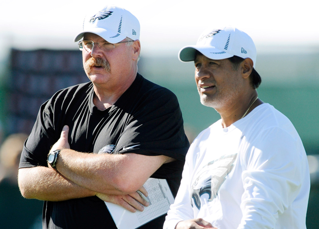 "Andy Reid: I'm evaluating Eagles, firing Castillo ""is one of th…"