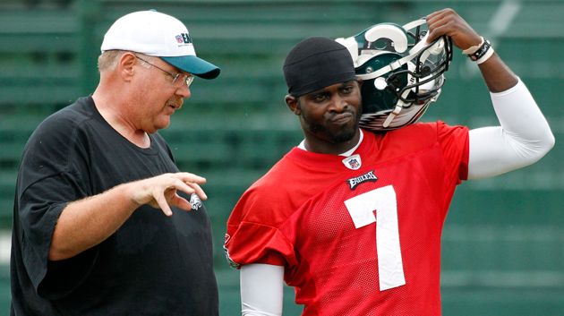 Eagles head coach Andy Reid will continue to 'evaluate' the qua…