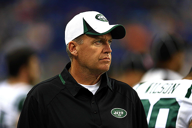 Jets head coach Rex Ryan on Mark Sanchez's pick-six: 'I never s…