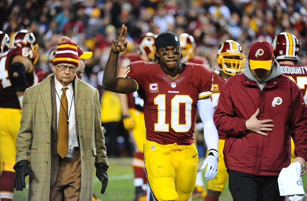 Robert Griffin III to undergo LCL surgery, possible ACL surgery…