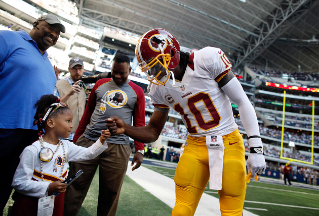Robert Griffin III shines brightly again as Redskins overcome C…