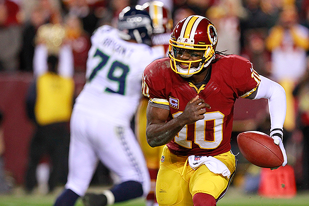 Sports Briefing | Pro Football: Redskins' Robert Griffin III Op…