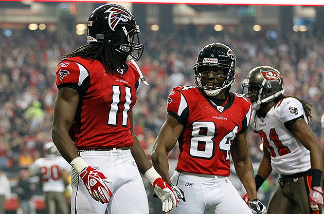 Sunday divisional games: Falcons looking for