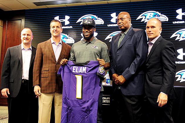 Ravens, Bears get early jump on signing 2013 NFL draft picks
