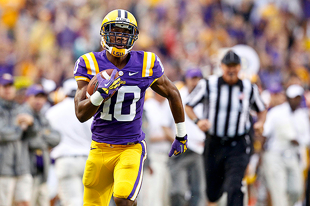 LSU WR Russell Shepard says he 'signed' with Eagles during 2013…