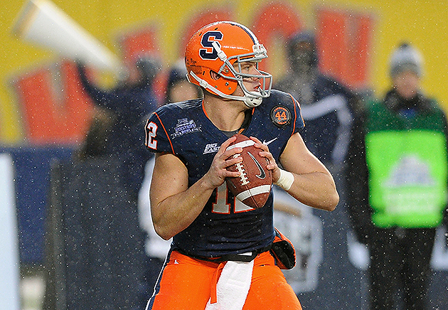 Draft-eligible quarterbacks Barkley, Smith and Nassib will repo…