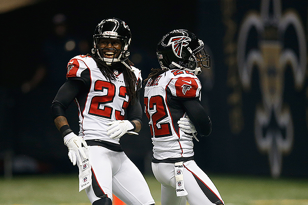 Asante Samuel active for Falcons vs. Saints