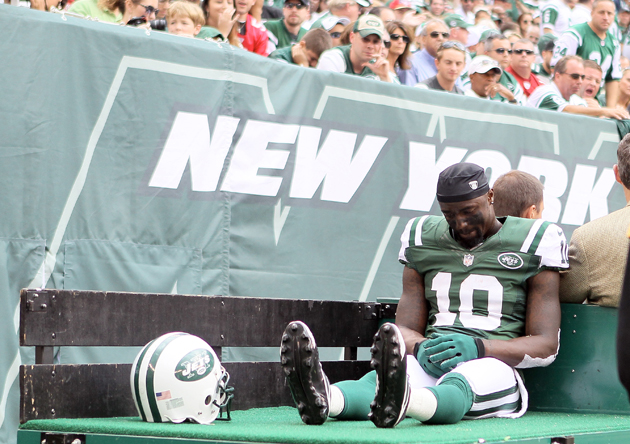 Jets place Santonio Holmes on injured reserve