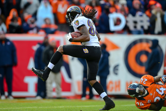 Joe Flacco and Torrey Smith torch Champ Bailey for two touchdow…