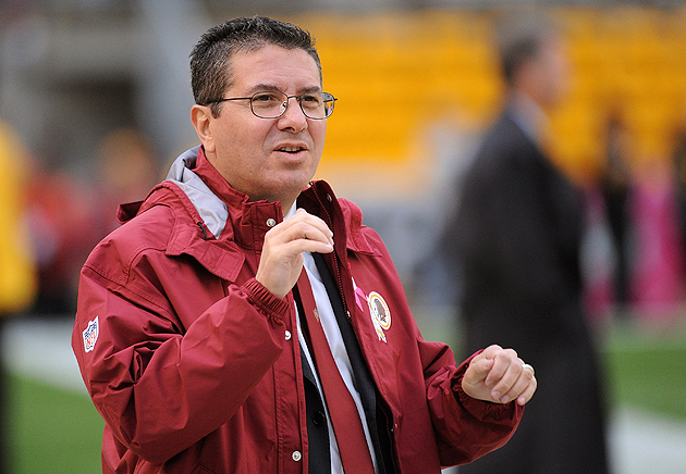 Dan Snyder's profane joy in Redskins win based on salary cap pe…