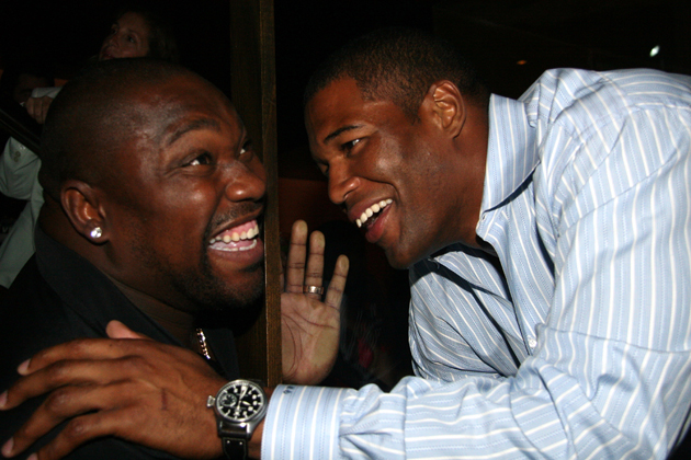Warren Sapp (who got in the Hall of Fame this year) and Michael…