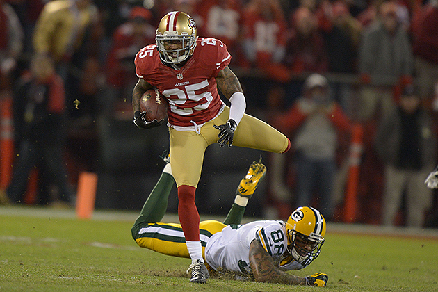 49ers CB Tarell Brown hires a new agent