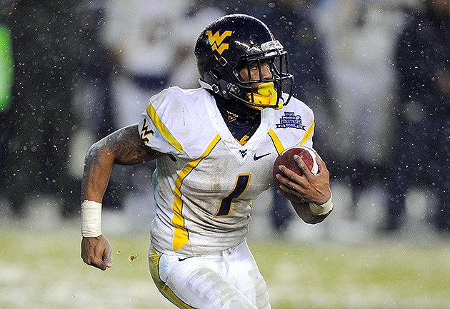 Rams trade up to No. 8 pick to select West Virginia WR Tavon Au…