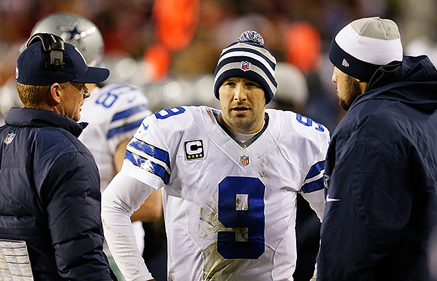 Week 17 LVPs: Tony Romo, Matt Schaub make the list