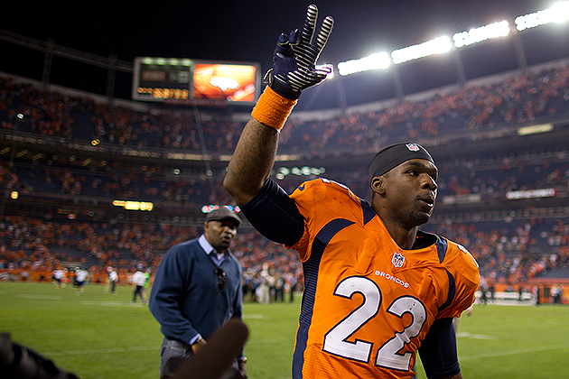 Tracy Porter headlines Broncos, Ravens inactive lists