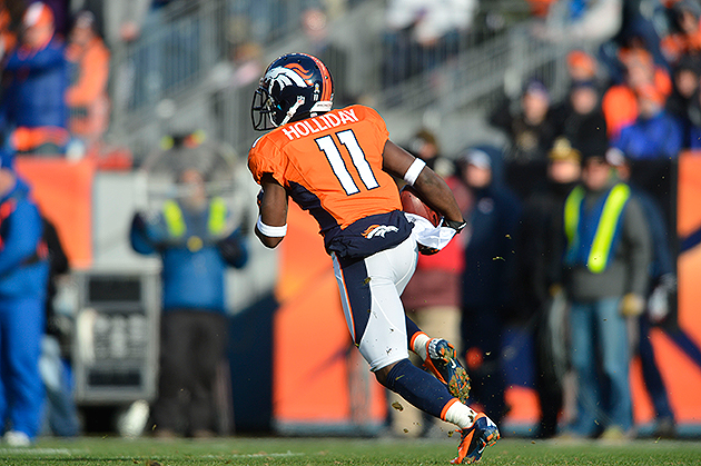 Trindon Holliday runs into NFL record books with 104-yard kick …