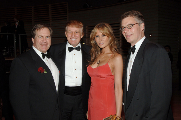 Donald Trump wishes 'Bob' Belichick the best of luck on Twitter