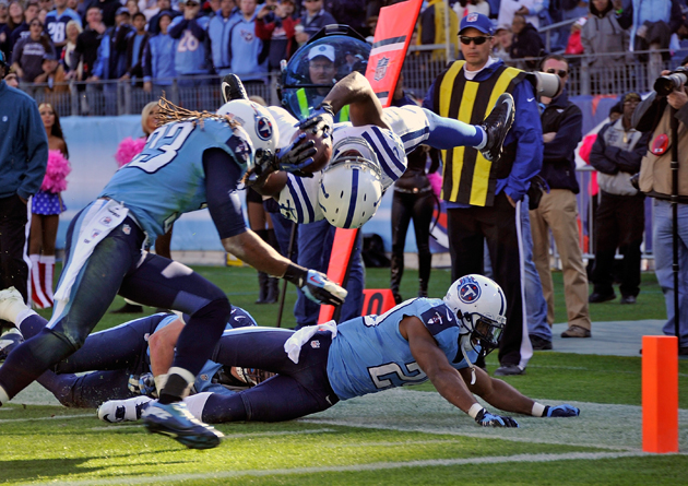 Week 8 Splash Plays: Vick Ballard saves the Colts' day with the…