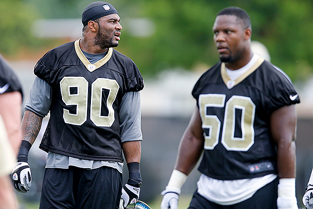 Saints lose LB Victor Butler to torn ACL