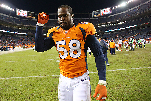 Broncos LB Von Miller releases statement after receiving six-ga…